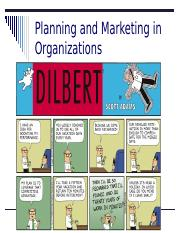 5 - Planning and Marketing in Org..pptx
