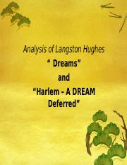 interpretation of harlem by langston hughes