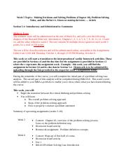 MBA 606 Online Winter 2014 Week 5 Assignments.doc