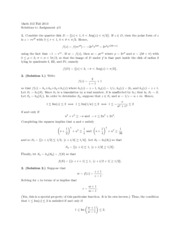 Hw solutions 3