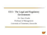 3 - US Legal and Regulatory Context(s)