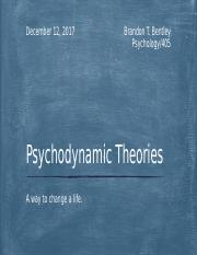 Psychodynamic Theories power point.pptm