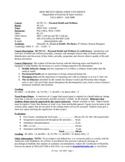 HLTH_151_Fall_08_Syllabus
