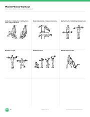 planetfitnessworkoutpdf  planet fitness workout abs