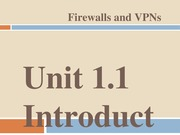 unit 1.1 introduction to nw security