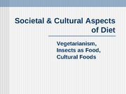 Societal and Cultural Aspects
