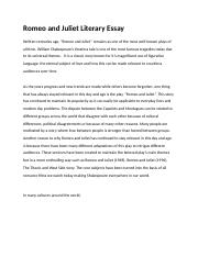 Romeo and Juliet Literary Essay-k.docx