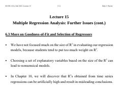 Lecture+15+Multiple+Regression+Analysis+-+Further+Issues++cont+