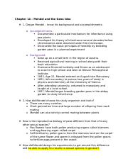 Kilpatrick Biology 2 Study goals and questions