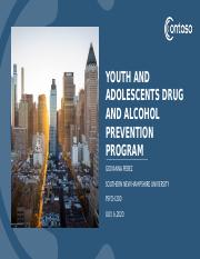 Youth and Adolescents Drug and Alcohol Prevention Program psych 200 [Autosaved].pptx