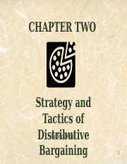 Chap2 Distributive Bargaining