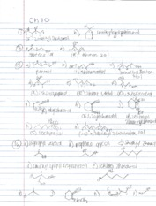 ChemCH10 Notes Problems