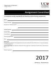 Assignment-coversheet