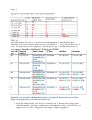 Unit 2 Lesson 4 Lab 2 IP Addressing and Subnetting Worksheet 2.doc