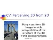 week11-perceiving3D