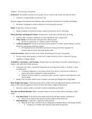 Diet Chapter 1 Study Guide .docx
