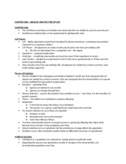 Biology 1M03 Exam Summary Notes