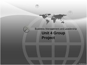 Business Management and Leadership_Group_Project_Template