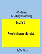 339956664-Lesson-3-HND-in-Business-Unit-5-Management-Accounting