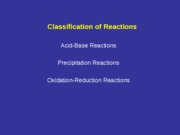 Lect 4. Chemical Reactions-2010