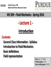 Lecture 1- Introduction class