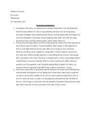 Nadeeka Toussaint - Economic Assignment 1.docx