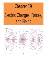 Chapter 19_Electric charges forces and fields_PUNEET