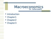 ECON 100C Intermediate Macroeconomics lecture notes chapter 1, 2, 3