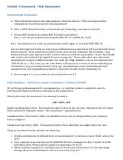 Module 1 Homework - Risk Assessment-9.docx