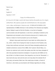 Eng 193 essay crying of lot 49