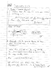Math 1251 Class Notes Sections 2.6-2.8