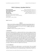 DEAP_ Evolutionary Algorithms Made Easy.pdf