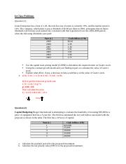 In Class Problems on Equity and Capital Budgeting Solutions (3).docx