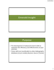 Guide to Emerald 2014 Revised copy
