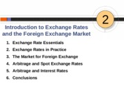 İntroduction to Exchange Rate
