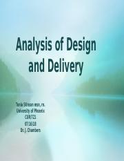 Analysis of Design and Delivery.pptx FINAL.pptx