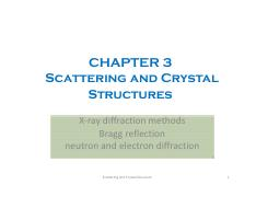Condensed Matter Physics I_Chap3_2015