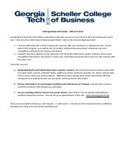 1 pages internships howtostart - Do You Like Your Job What Do You Like About Your Job Or Least Like