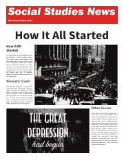 Social Studies News - The Great Depression.pdf