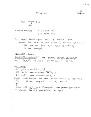 Encryption Lecture Notes