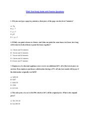 TEAS Test Study Guide with Practice Questions