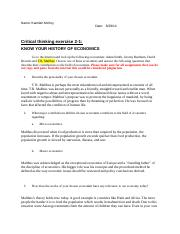 Chapter 2 Critical Thinking Assignment 2_1-1