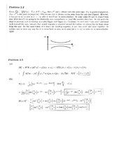 Physics 137A Homework 2 Solutions