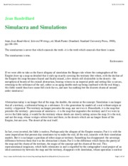 excerpt_Baudrillard_Simulacra and Simulations