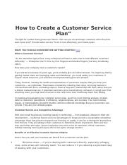How to Create a Customer Service Plan.docx