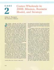 Costco Wholesale in 2008 Mission, Business Model & Strategy.pdf