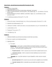 Ch 1 - 4 Study Guide