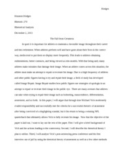 Mike Vick Final Paper
