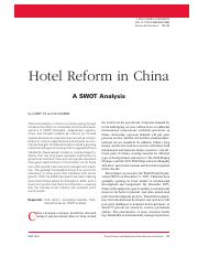 hotel reform in china.pdf