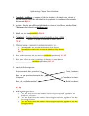 Epidemiology Chapter Three Worksheet Answers.docx